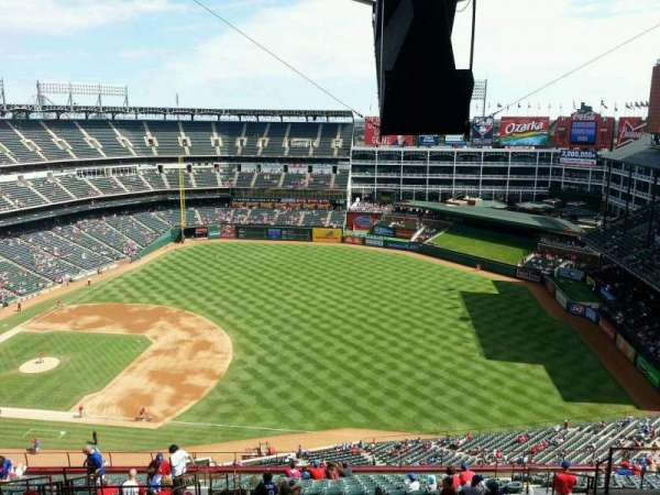 Globe Life Park in Arlington, section: 337, row: 23, seat: 7
