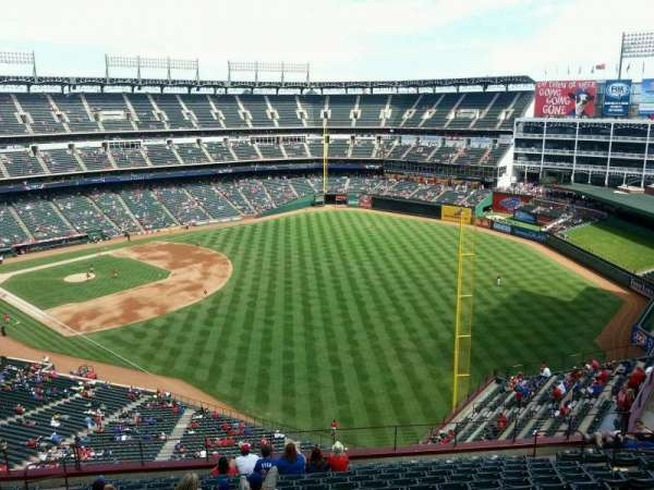 Globe Life Park in Arlington, section: 342, row: 15, seat: 9