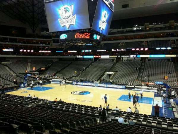 American Airlines Center, section: 105, row: T, seat: 9