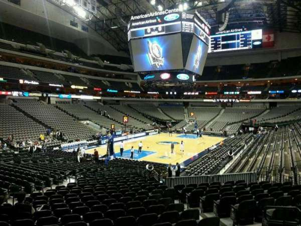 American Airlines Center, section: 111, row: T, seat: 8