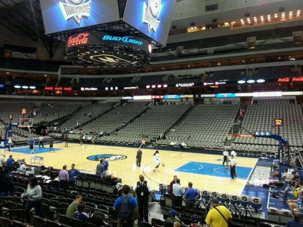 American Airlines Center, section: 117, row: L, seat: 7