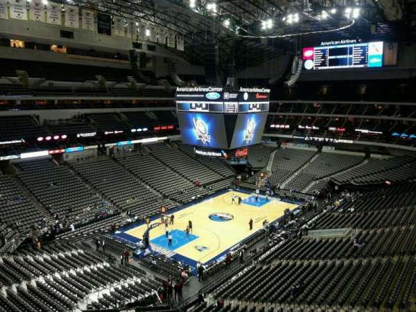 American Airlines Center, section: 331, row: EE, seat: 12