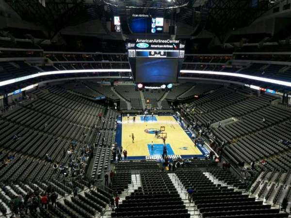 American Airlines Center, section: 302, row: B, seat: 2