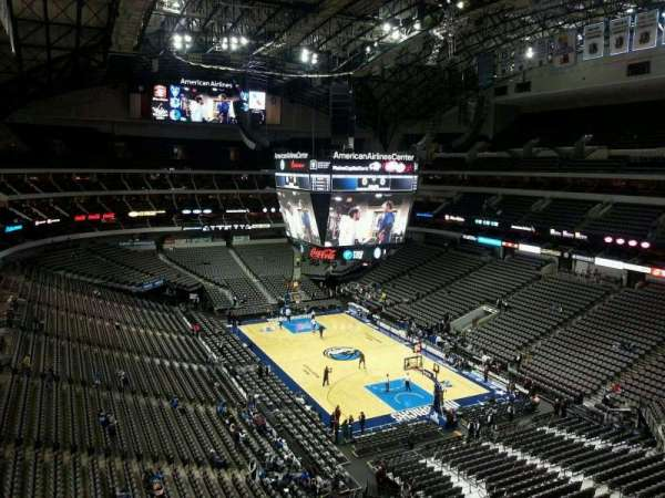 American Airlines Center, section: 304, row: EE, seat: 8