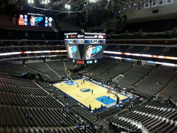 American Airlines Center, section: 305, row: CC, seat: 4