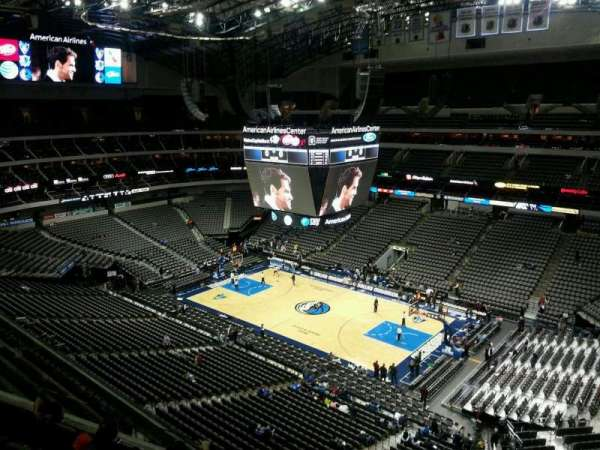 American Airlines Center, section: 306, row: E, seat: 13