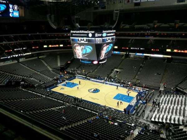 American Airlines Center, section: 307, row: D, seat: 10
