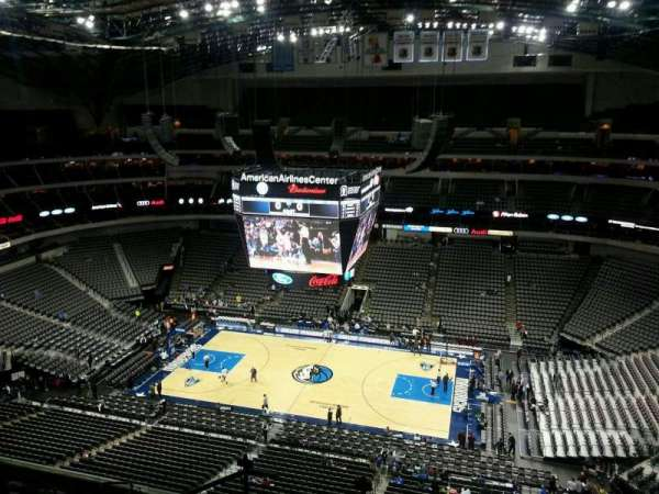 American Airlines Center, section: 308, row: K, seat: 19