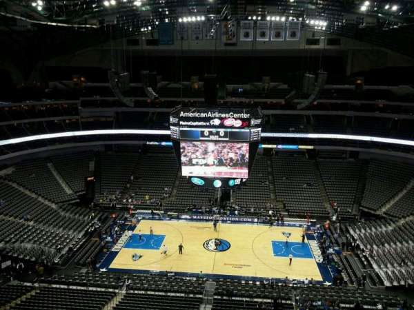 American Airlines Center, section: 310, row: J, seat: 1