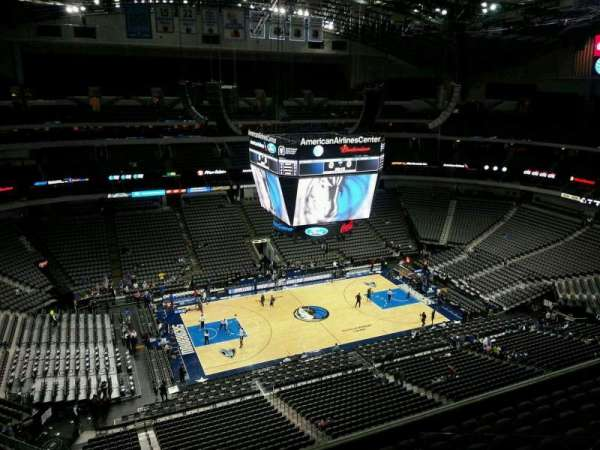 American Airlines Center, section: 312, row: J, seat: 15