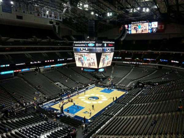 American Airlines Center, section: 315, row: A, seat: 4