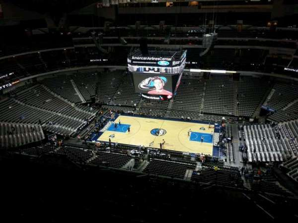 American Airlines Center, section: 325, row: T, seat: 3