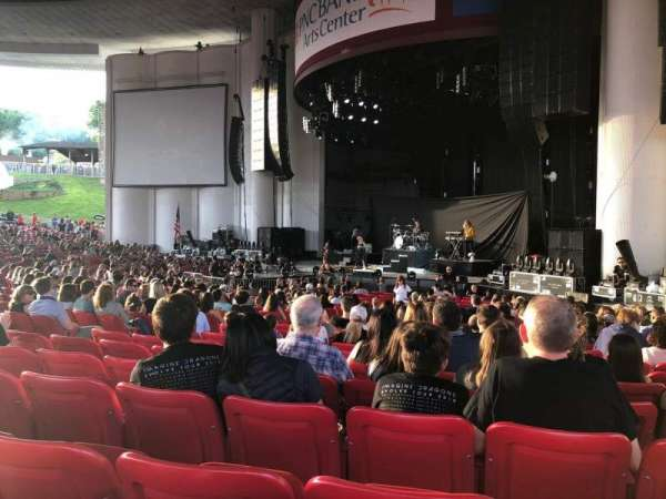 PNC Bank Arts Center, section: 101, row: X, seat: 24