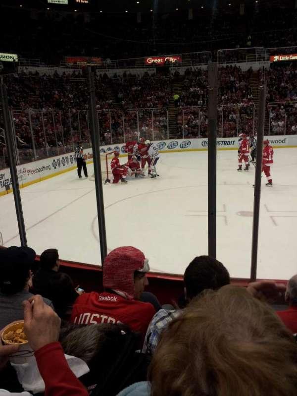Joe Louis Arena, section: 110, row: 5, seat: 8
