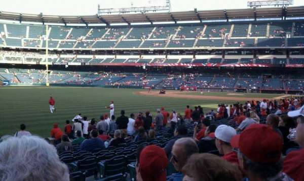 Angel Stadium, section: F103, row: r, seat: 17