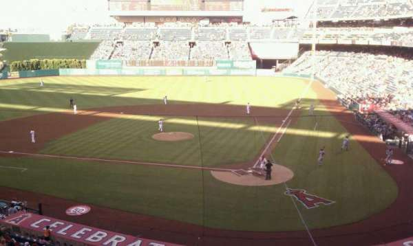 Angel Stadium, section: club, row: c, seat: 11