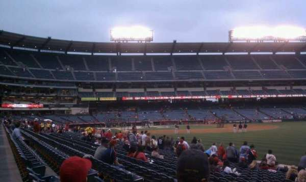 Angel Stadium, section: F132, row: p, seat: 11