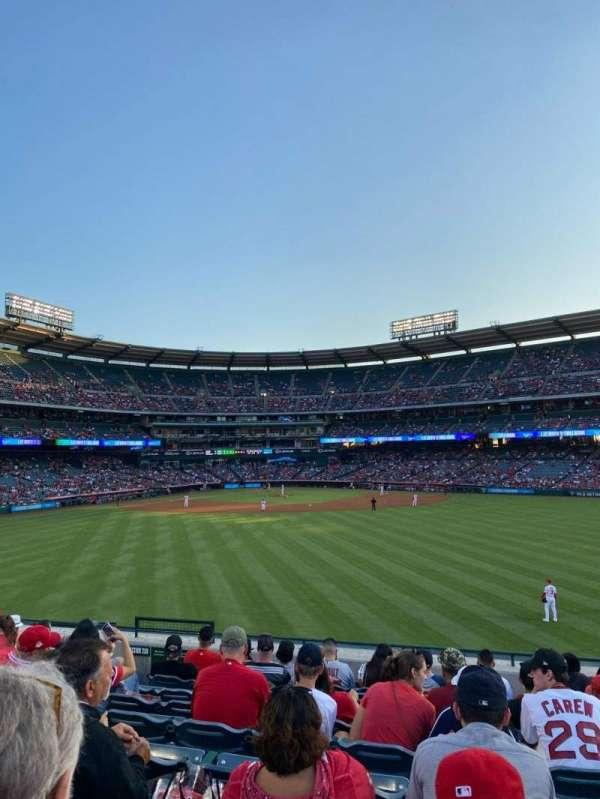 Angel Stadium, section: 240, row: K, seat: 5