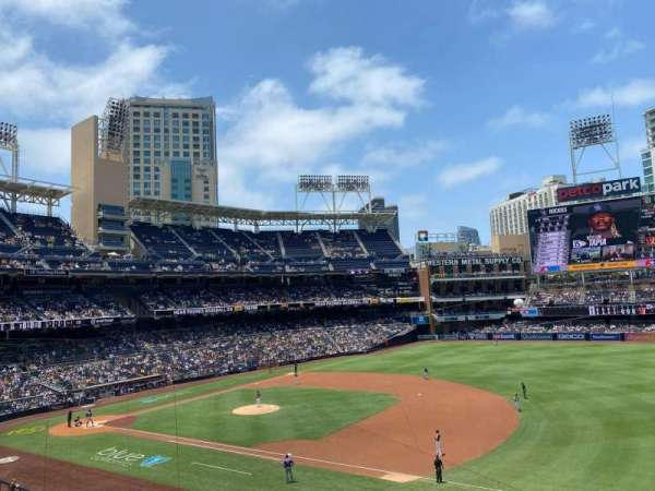 PETCO Park, section: 213, row: 2, seat: 16