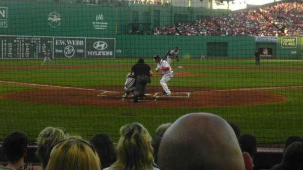 Fenway Park, section: Field Box 43, row: e, seat: 6