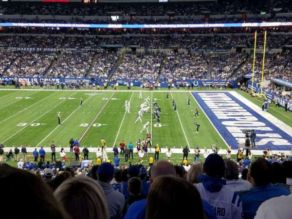 Lucas Oil Stadium, section: 237, row: 11, seat: 10