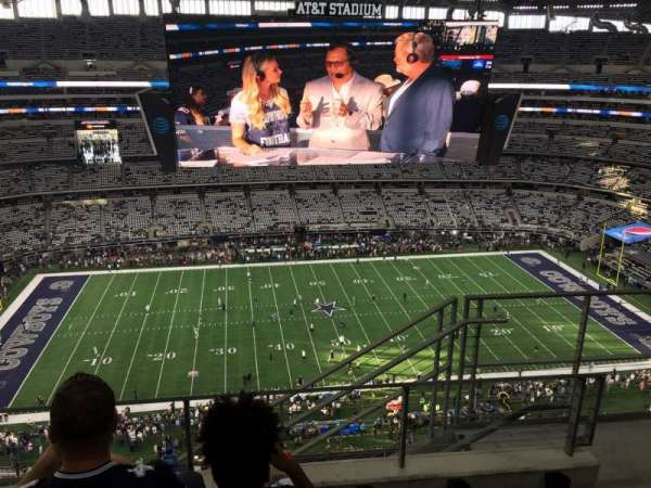 AT-and-T Stadium, section: 414, row: 11, seat: 3-4