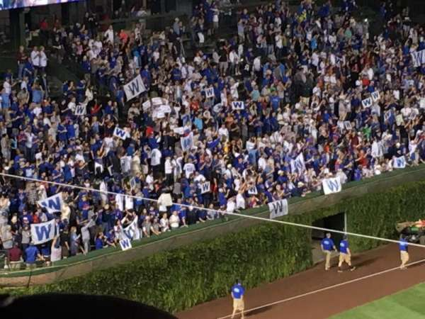 Wrigley Field, section: 307L, row: 7, seat: 5