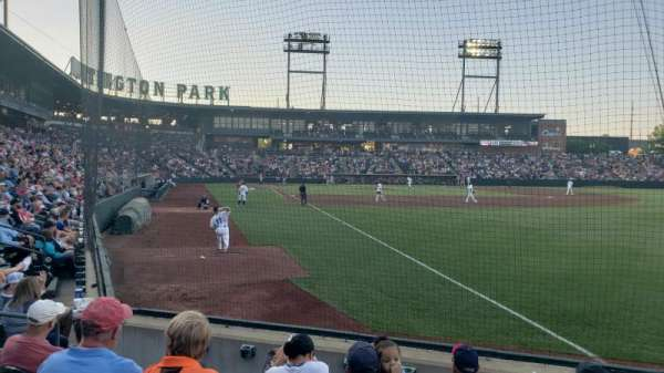 Huntington Park, section: 1, row: 6, seat: 5