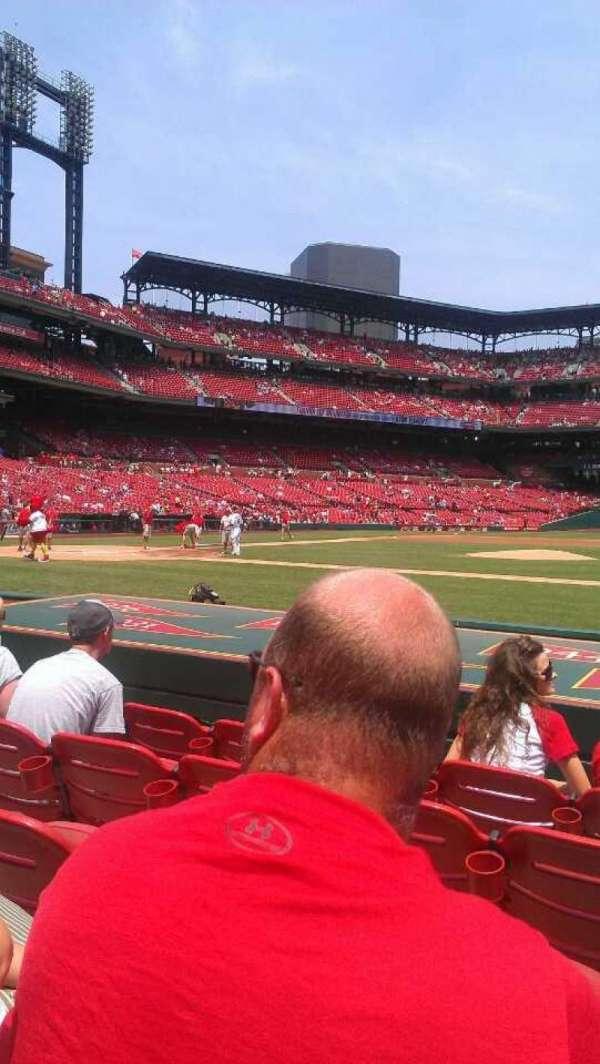 Busch Stadium, section: 144, row: H, seat: 12