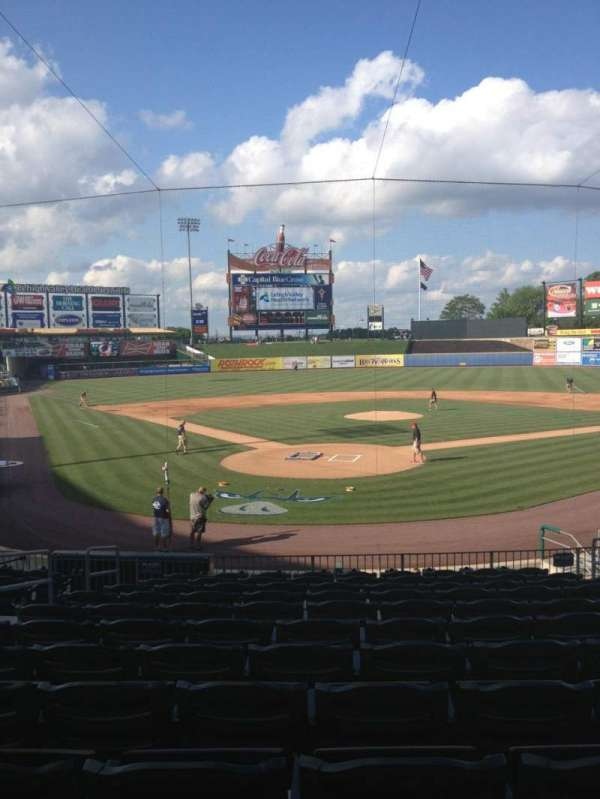 Coca-Cola Park, section: 111, row: W, seat: 5