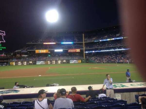 Citizens Bank Park, section: 131, row: 9, seat: 6