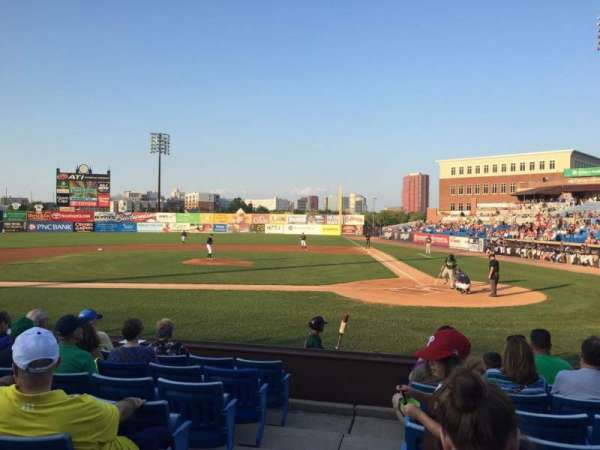 Frawley Stadium, section: 18, row: 8, seat: 10