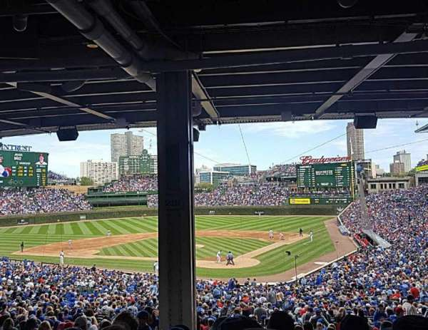 Wrigley Field, section: 219, row: 15, seat: 4