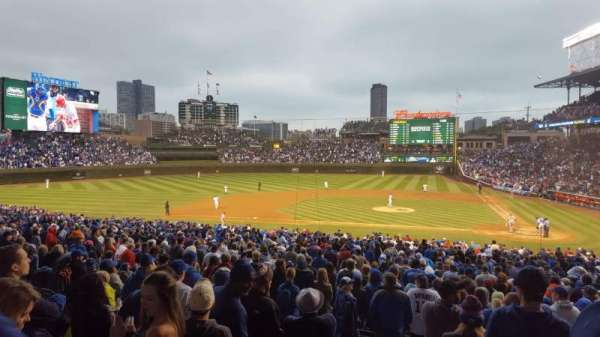 Wrigley Field, section: 215, row: 7, seat: 13