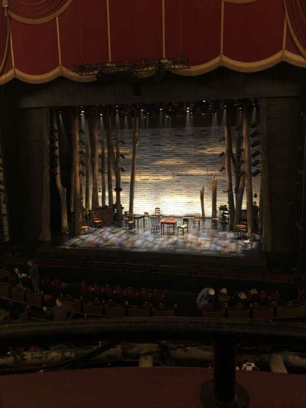 Citizens Bank Opera House, section: Dress Circle LC, row: AA, seat: 2,4