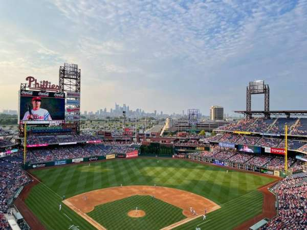 Citizens Bank Park, section: 420, row: 6, seat: 4