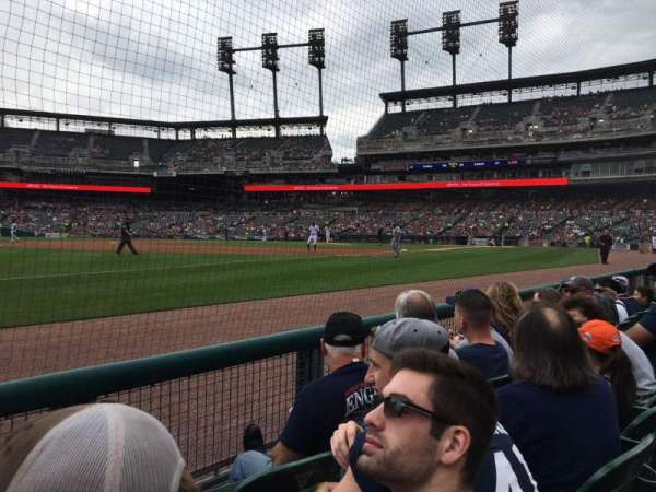 Comerica Park, section: 138, row: 3, seat: 24