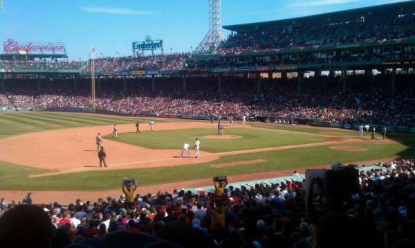 Fenway Park, section: Grandstand 29, row: 2, seat: 9