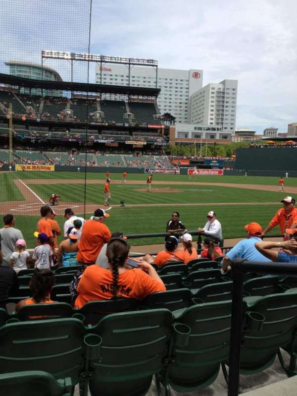Oriole Park at Camden Yards, section: 30, row: 10 , seat: 1