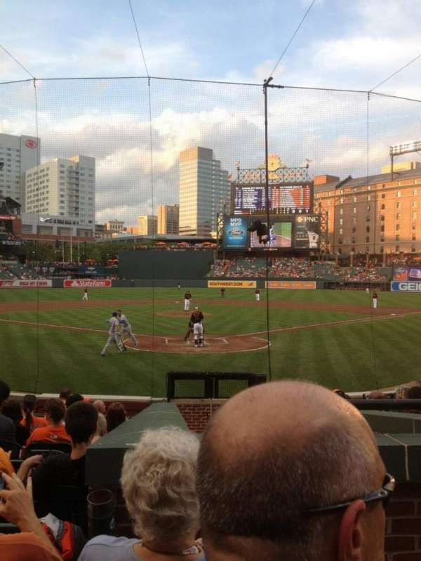 Oriole Park at Camden Yards, section: 38, row: 14, seat: 1
