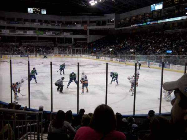 Webster Bank Arena, section: 119, row: d, seat: 10