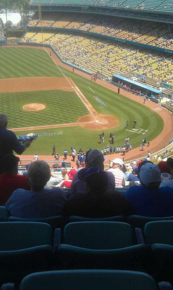 Dodger Stadium, section: 11rs, row: s, seat: 22