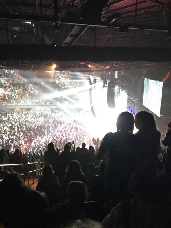 The Forum, section: 211, row: 17, seat: 2