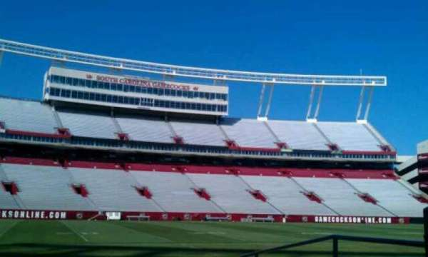 Williams-Brice Stadium, section: 20