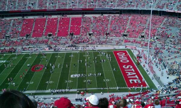 Ohio Stadium, section: 18c, row: 41, seat: 32