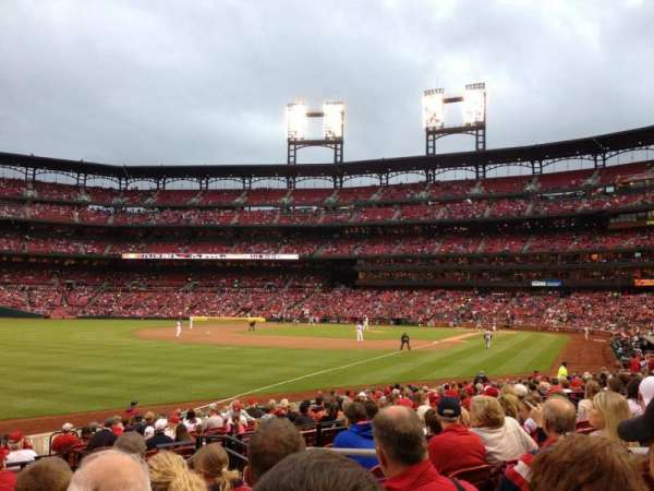 Busch Stadium, section: 166, row: 9, seat: 4