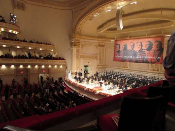 Carnegie Hall, section: First Tier, row: Box 13, seat: 5