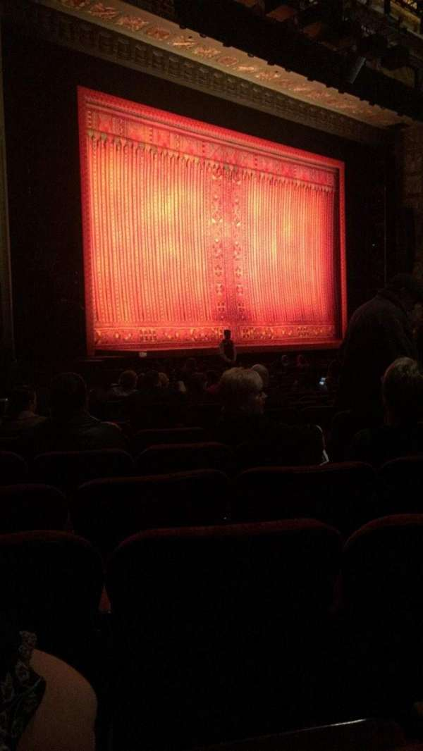 Hollywood Pantages Theatre, section: Orchestra L, row: T, seat: 11