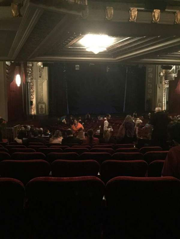 Hollywood Pantages Theatre, section: Orchestra L, row: VV, seat: 13