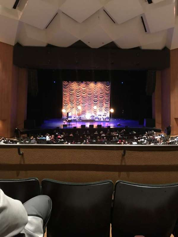Terrace Theater, section: Loge 4, row: 3, seat: 6